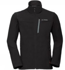 Zwarte VAUDE Men's Cyclone Jacket V Outdoorjas Heren - Maat XL