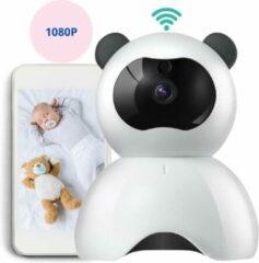 Spronkers Wifi Babyfoon Met Camera en App - HD-Kwaliteit - Terugspreekfunctie - Beter dan Alecto/Avent/Luvion - Zwart/Wit