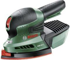 Bosch 18-volt Bosch PSM 18 LI Multischuurmachine - Exclusief accu en oplader - Inclusief 3 schuurbladen