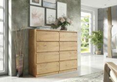 Pro-meubels - Ladekast - Commode - Ibis 8 lades - 120cm - Eiken
