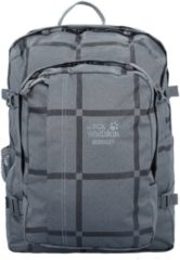 Berkeley Daypack Rucksack 44 cm Jack Wolfskin grey big check