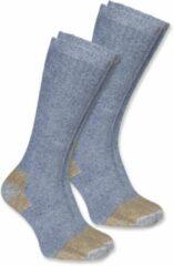 Grijze Carhartt Steel Toe Boot Sock 2-Pair Grey Heren Sokken