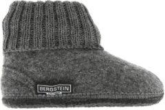 Grijze Bergstein Sloffen - Maat 35 - Unisex - grijs/zwart