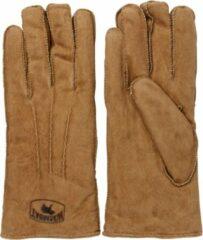 Warmbat Vrouwen Handschoenen - Glo3010 - Cognac - Maat XL