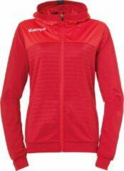Kempa Emotion 2.0 Hooded Sportjas - Maat S - Vrouwen - rood