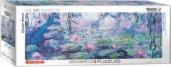 Eurographics Waterlelies - Claude Monet Panorama puzzel 1000 stukjes