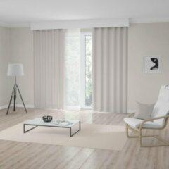 Beige Light Guard 1x Kant-en-Klaar Gordijn - Cream - Lichtdoorlatend - Lengte aanpasbaar - met haken - 140x280cm