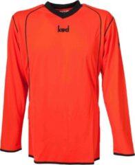 KWD Sportshirt Victoria - Voetbalshirt - Volwassenen - Maat L - Oranje/Zwart