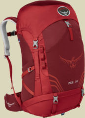 Osprey Ace 38 Kids Trekkingrucksack Kinder Volumen 38 paprika red