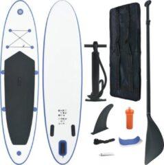 Merkloos / Sans marque SUP board 330cm kleur blauw-wit, complete set, paddleboard, subboard, supboard