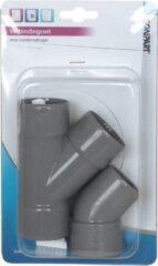 Scanpart droger accessoire PVC y-stuk verbindingsset condensdroger