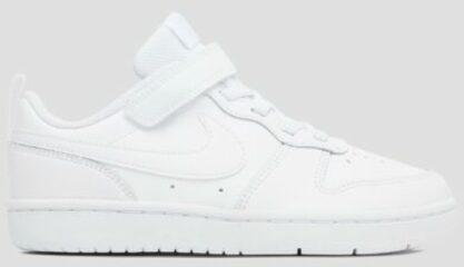 Witte Nike Court Borough Low 2 Sneakers - White/White-White - Maat 31