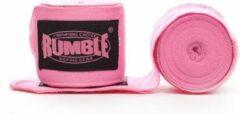 Rumble Boksbandage Elastisch Roze