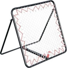 Precision Stuitbaltrainer Pro Rebounder 95 X 95 Cm Staal Zwart