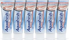 Aquafresh White & Shine - 6x 75 ml - Tandpasta