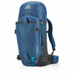 Gregory - Targhee 45 - Toerskirugzak maat 45 l - L, blauw/zwart