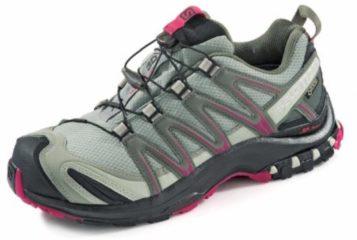 Salomon XA Pro 3D GTX Women Damen Speed Hiking-/Trail Running Schuh Größe UK 4 shadow/black/sangria
