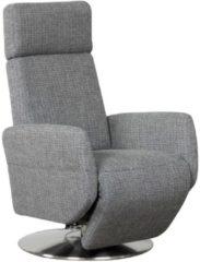 TV Sessel mit Gasdruckmechanik und Aufstehhilfe Steinpol Central Services Grau