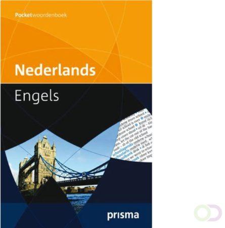 Afbeelding van Woordenboek Prisma pocket Nederlands-Engels