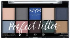 NYX Professional Makeup Paletten Nr. 5 - Marine Layer Lidschattenpalette 17.7 g