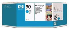HP 90 cyaan DesignJet inktcartridge, 400 ml (C5061A)