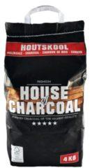 Zwarte House of Charcoal Premium Houtskool - 4kg - FSC