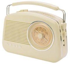 KOENIG König DAB+ Retro-Radio in verschiedenen Farben Farbe: Elfenbein
