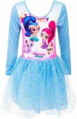 Blauwe Nickelodeon Shimmer and Shine fantasie jurkje, 2 jaar