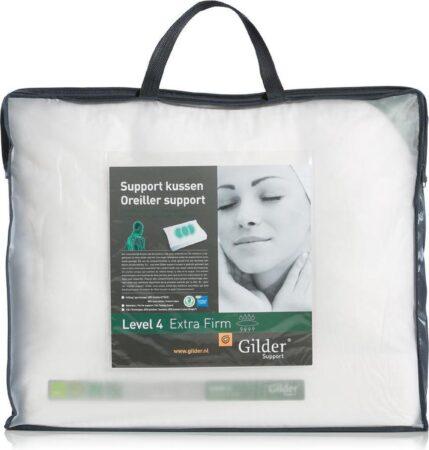 Afbeelding van Gilder Support Level 4 ExtraFirm Kussen - Wit 60x70