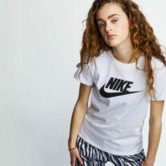 Witte Kleding W Nike Sportwear Tee Essential Icon Futura by Nike