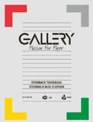 Tekenblok Gallery 200 g/m², steinbach gekorreld, 20 blad, ft 27 x 36 cm