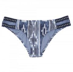 Rip Curl - Women's Moon Tide Cheeky Pant - Bikinibroekjes maat L, grijs/blauw