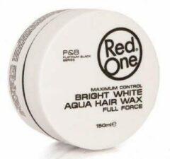 Witte Red One - Bright White - Aqua Hair Wax - Full Force - 150 ml