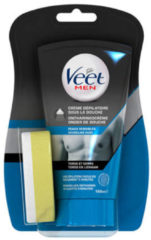 Veet For Men Ontharingscrème In-Shower Chest&Body Gevoelige Huid 150 ml