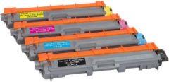 Cyane Inktdag toner cartridge voor Brother TN241 BK , TN245 C, TN245M, TN245Y toner Multipack (4 stuks) geschikt voor printers Brother DCP-9015 CDW , DCP-9020 CDW Brother HL-3140 CW , HL-3150 CDW , HL-3170 CDW Brother MFC-9140 CDN, 9330 CDW, 9340 CDW