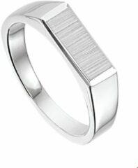 Huiscollectie Zilveren Ring mat gediamanteerd 16.50 mm (52)