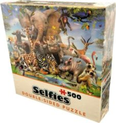 Cheatwell Double-Sided Selfie Puzzles - Wild (500)