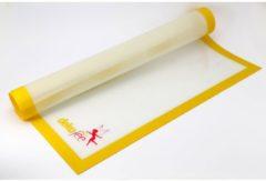 Gele Dekofee Silicone Werkmat 60x50cm