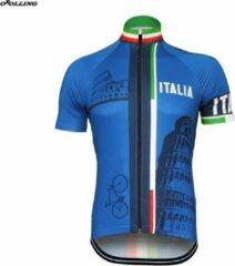 Blauwe Ww.fan-shop.be Wielertrui ITALIE maat S
