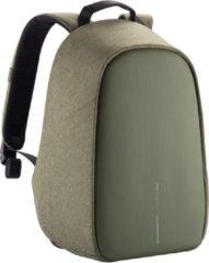 XD Design Anti-diefstal rugzak Bobby Hero Small Anti Theft Backpack 13 Inch Groen