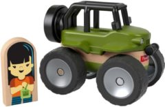 Fisher-Price Wonder Makers jeep 9 cm groen/blank 4-delig
