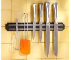 Zwarte Gereedschapshouder - keukengerei houder magnetisch