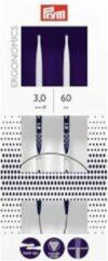 Blauwe Prym ergonomische rondbreinaald 60 cm 3,0 mm