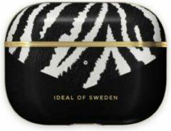 Witte IDeal of Sweden AirPods Case PU voor Pro Zebra Eclipse
