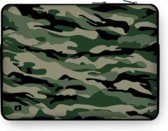 "DuckZip Laptophoes 15 inch – Macbook Sleeve 15"" - Camouflage N°3"