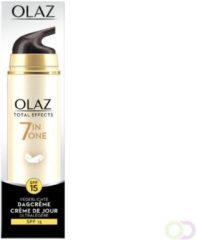 6x Olaz Total Effects 7-in-1 Vederlichte Hydraterende Dagreme SPF 15 50 ml