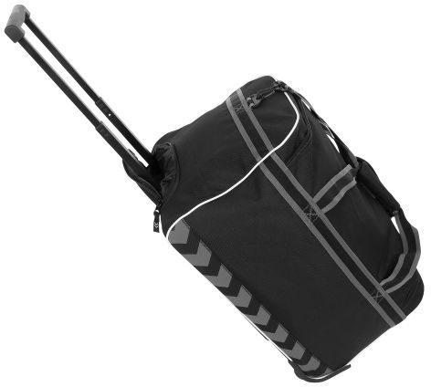 Afbeelding van Zwarte Hummel Sporttas Medium Travelbag Elite Zwart