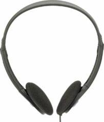 QY Koptelefoon stereo headset - compact en opvouwbaar - zwart