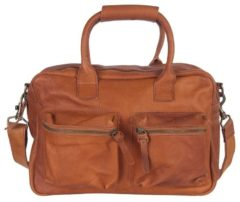 Bruine Cowboysbag Schoudertas The Bag Small 1118 Cognac