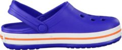 Blauwe Crocs Crocband Slippers - Maat 27/28 - Unisex - blauw/roze/wit